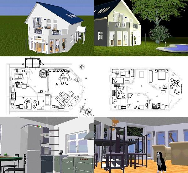 Haus Architektur Software. Haus Entwerfen Software Haus